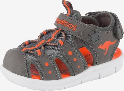 KangaROOS Sandalen in grau / orange, Produktansicht
