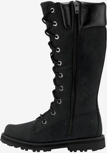 TIMBERLAND Schnürboots »Courma Kid Girls Tall Zip« in schwarz, Produktansicht