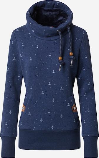 Ragwear Sweater majica 'Rylie Marina' u mornarsko plava / bijela, Pregled proizvoda