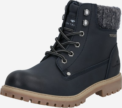 TOM TAILOR Stiefelette in navy, Produktansicht