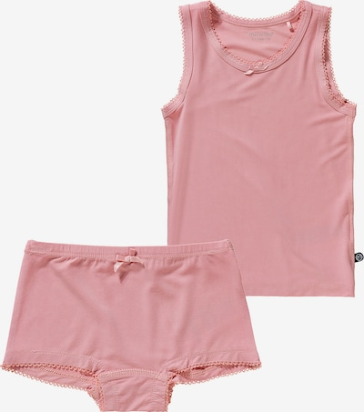 MINYMO Unterwäsche Set BAMBOO Unterhemd + Unterhose in rosa, Produktansicht