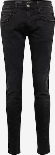 Jeans REPLAY pe negru, Vizualizare produs
