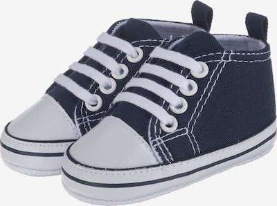 PLAYSHOES Schuhe in dunkelblau / weiß, Produktansicht