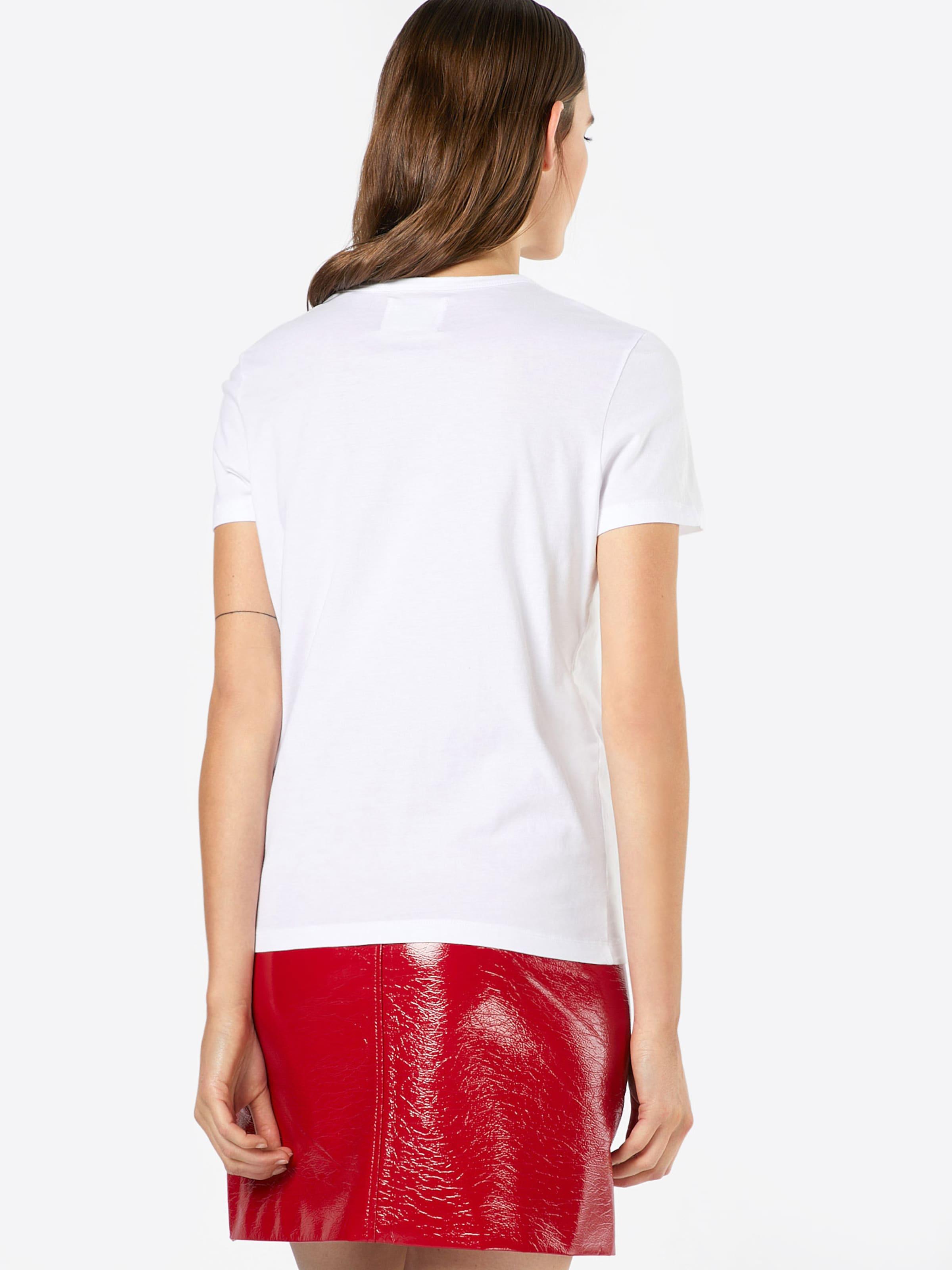 Blanc En T shirt 'uma' Wood vnN0wm8