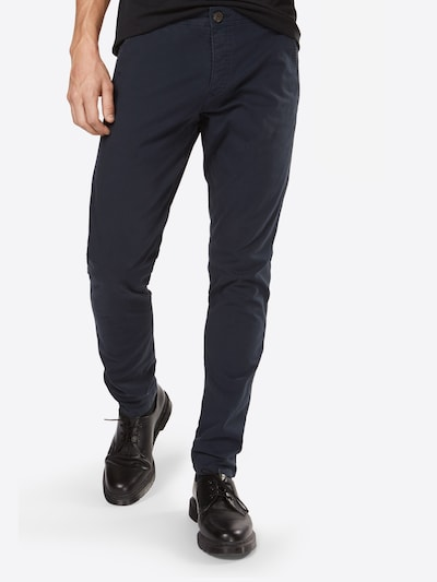 SELECTED HOMME Chinohose 'One Luca Phantom' in navy, Modelansicht