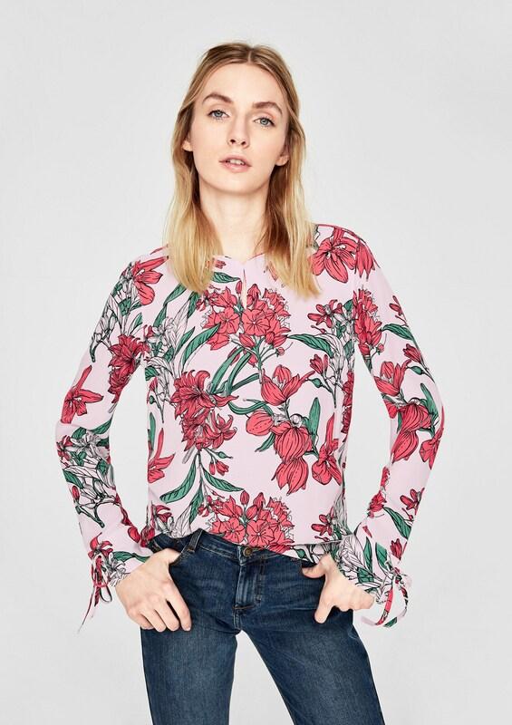 s.Oliver RED LABEL Elegante Bluse mit Struktur