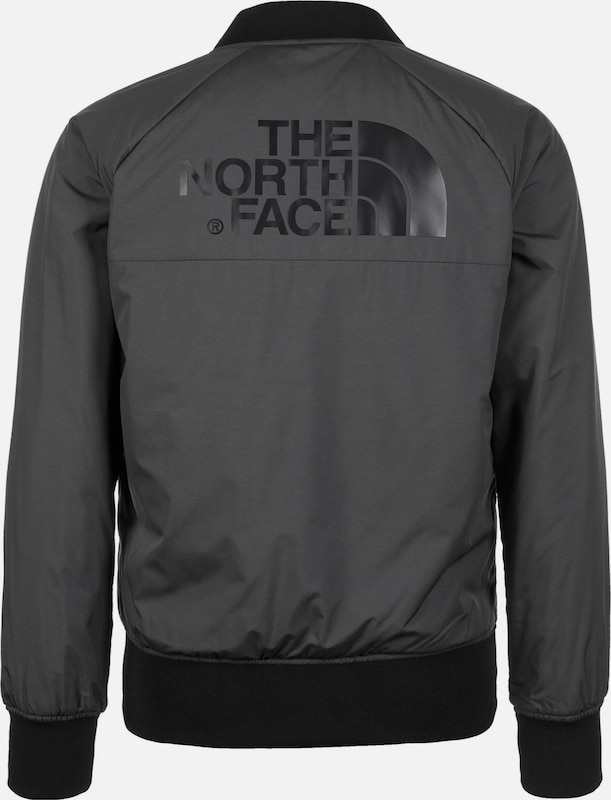 THE NORTH FACE 'Insulated' Bomber Jacke Jacke Jacke Damen in grau  Bequem und günstig 33dc9f