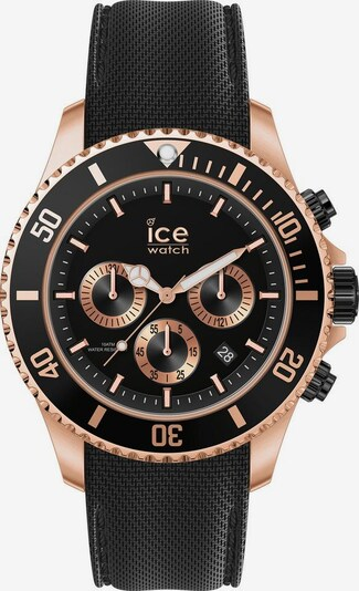 ICE WATCH Chronograph in rosegold / schwarz, Produktansicht