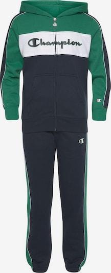 Champion Authentic Athletic Apparel Jogginganzug in marine / grün, Produktansicht