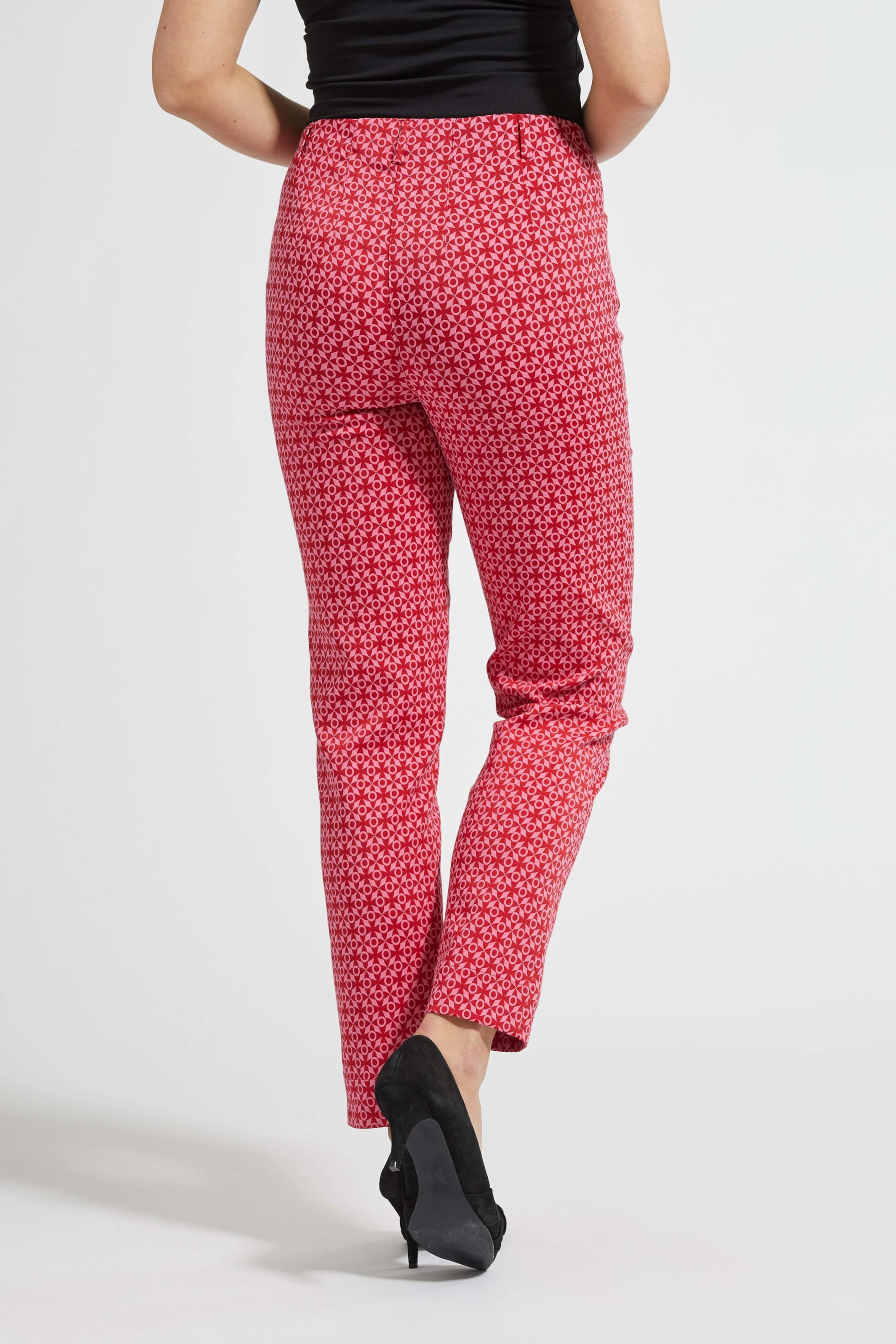 In 'kelly' Laurie Stoffhose RosaFeuerrot vmNOwny80