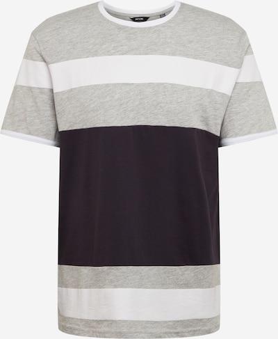 Only & Sons Koszulka 'ONSNUGGET' w kolorze ciemny niebieski / szary / białym, Podgląd produktu