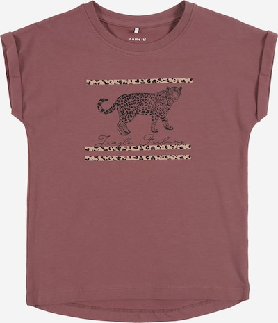 NAME IT Shirt in de kleur Taupe / Rosa, Productweergave