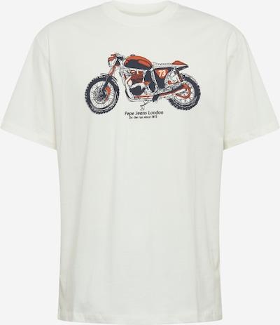 Pepe Jeans Majica 'Donald' | temno oranžna / črna / off-bela barva, Prikaz izdelka