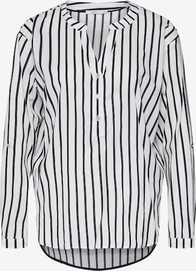 EDC BY ESPRIT Bluse in schwarz / weiß, Produktansicht