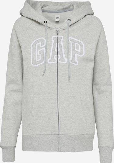 GAP Sweatjacke in graumeliert, Produktansicht