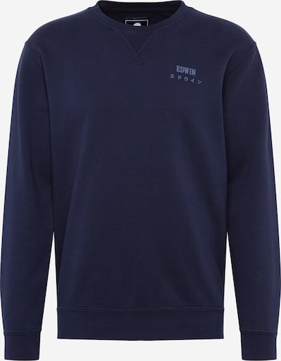 EDWIN Sweatshirt 'Base Crew Sweat' in Navy, Item view
