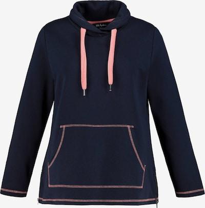 Ulla Popken Sweater majica u tamno plava / svijetloroza, Pregled proizvoda