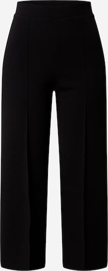Miss Selfridge Hose 'Black Scuba Wide Leg Trouser' in schwarz, Produktansicht