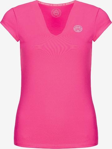 T-shirt fonctionnel 'Bella 2.0 Tech' BIDI BADU en rose