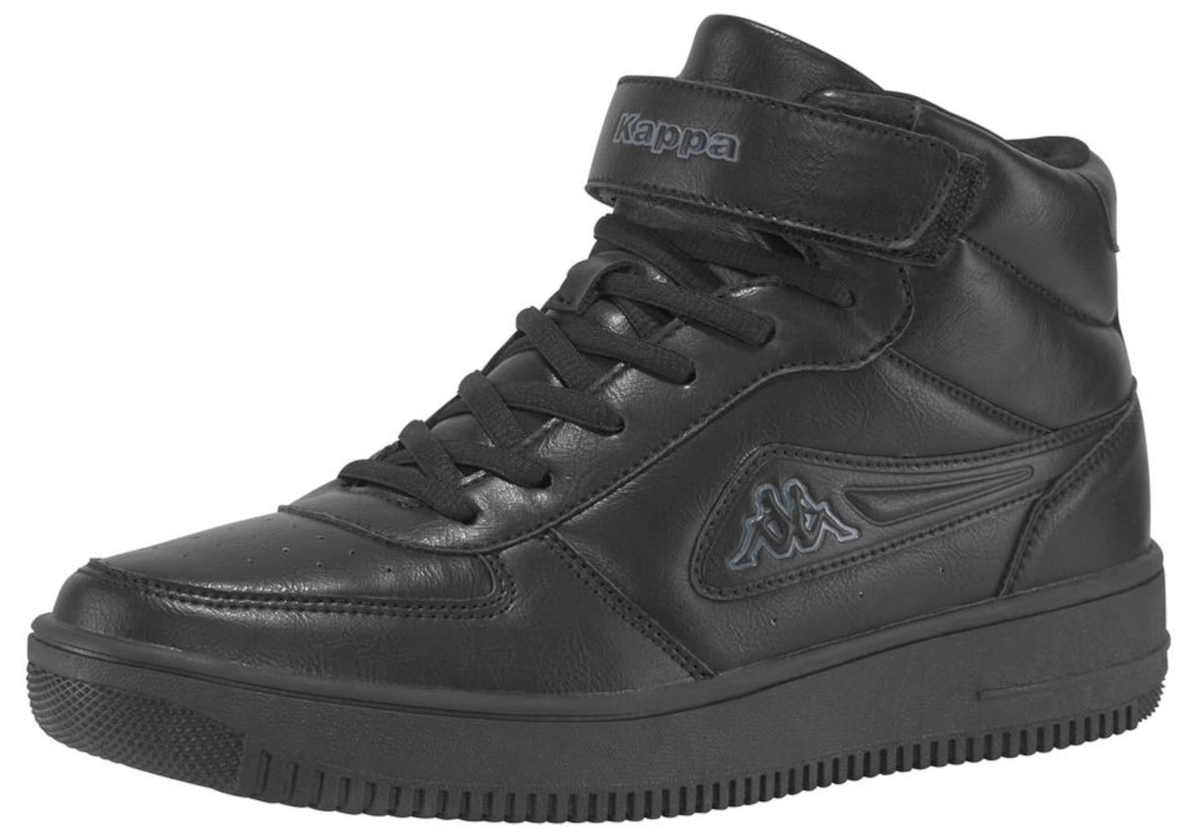 'bash Mid' Kappa Schwarz In Sneaker 8nwOPkX0