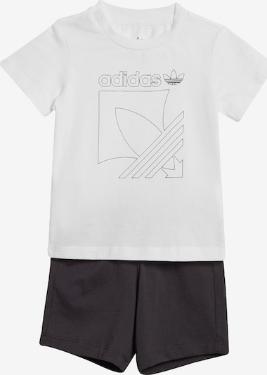 ADIDAS ORIGINALS Set 'Badge' in de kleur Zwart / Wit, Productweergave