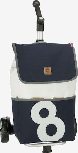 360 Grad Einkaufstasche 'Mole' in nachtblau / weiß, Produktansicht