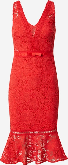 Lipsy Kleid 'AC RED LACE BODYCON' in rot, Produktansicht