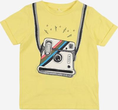 NAME IT Shirt 'Fakko' in gelb / mischfarben, Produktansicht