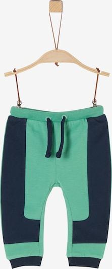 s.Oliver Hose in dunkelblau / grün, Produktansicht