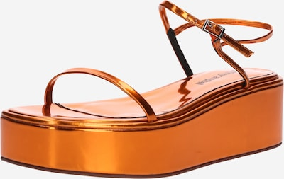 Jeffrey Campbell Slipper 'APRESMIDI' in orange, Produktansicht