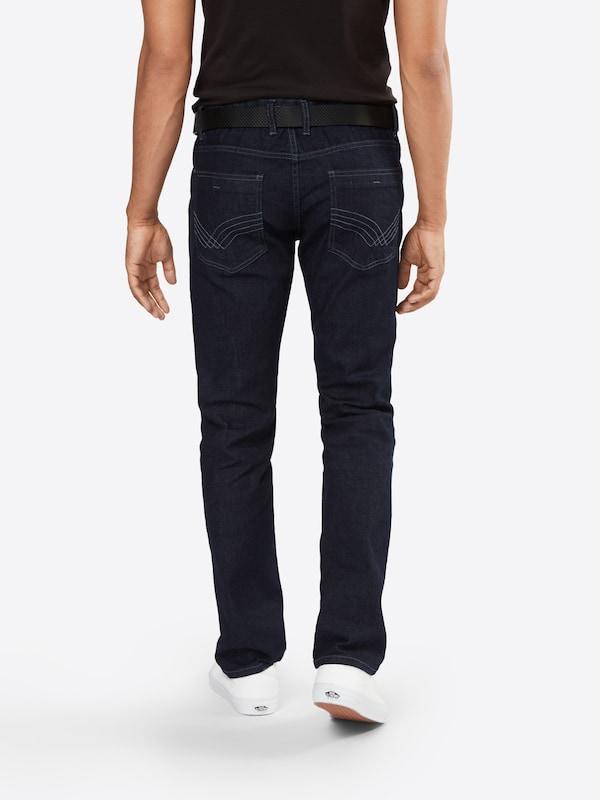 TOM TAILOR Jeans 'denim with belt Josh'