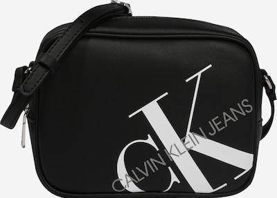 Calvin Klein Jeans Tasche in grau / schwarz / weiß: Frontalansicht
