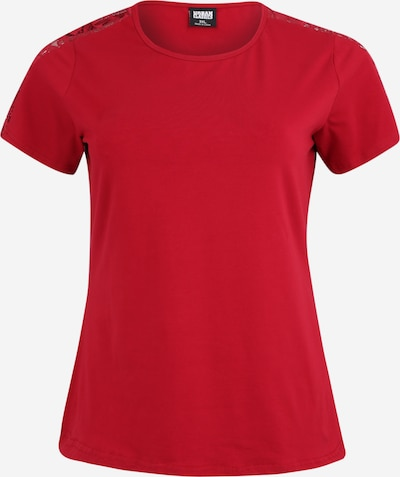 Urban Classics Curvy Majica | burgund barva, Prikaz izdelka