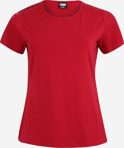 Urban Classics Curvy T-Shirt in burgunder, Produktansicht