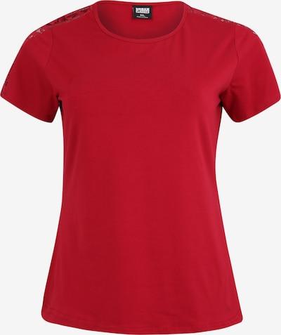 burgundi vörös Urban Classics Curvy Póló, Termék nézet