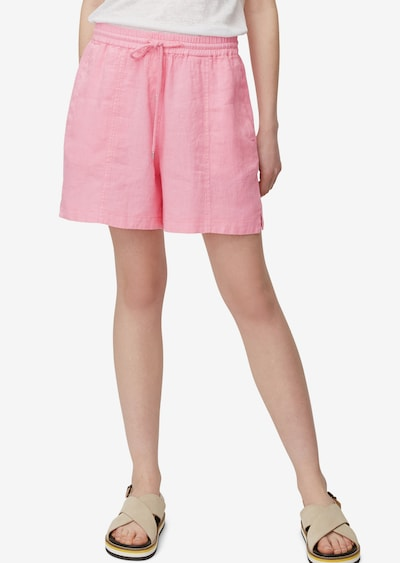 Marc O'Polo Shorts in rosa, Modelansicht