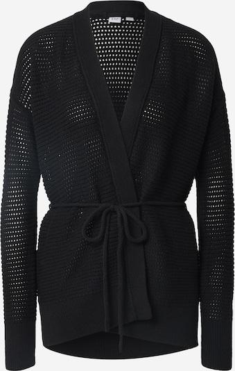 GAP Strickjacke 'TIE WRAP' in schwarz, Produktansicht
