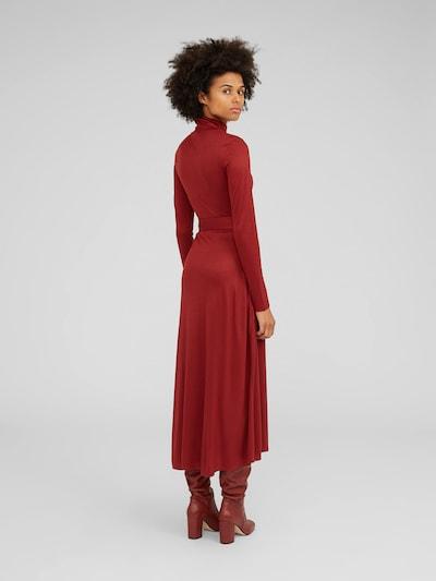EDITED Obleka 'Aiyana' | rjava barva: Pogled od zadnje strani