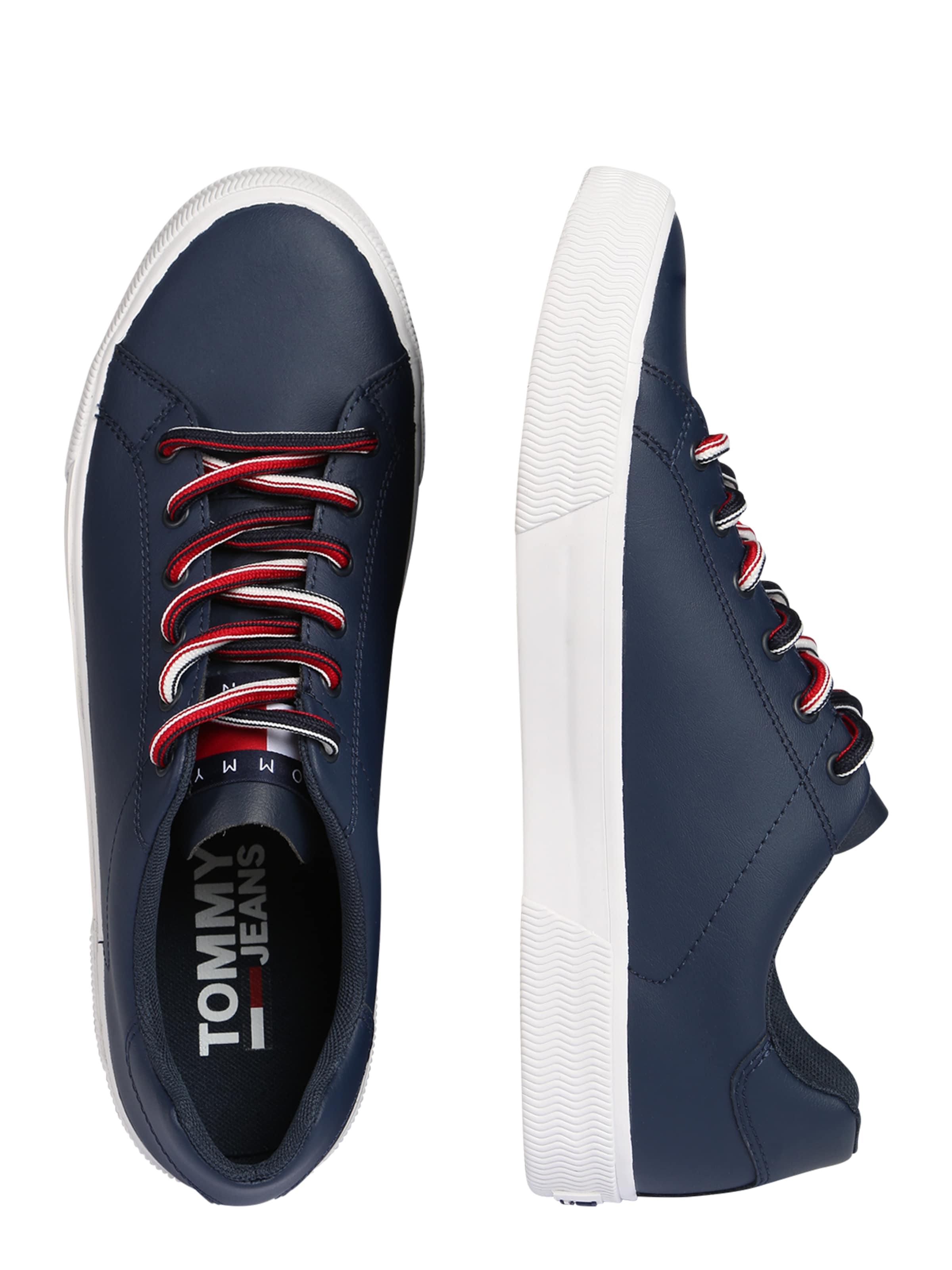 'essential Jeans Sneaker' Sneaker In Tommy DunkelblauWeiß uFc3l1KJ5T