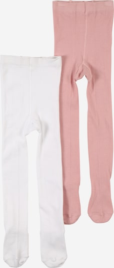 ABOUT YOU Collant '2er Pack Allie Tights' en rose / blanc, Vue avec produit