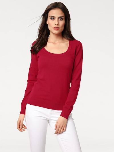 heine Sweter w kolorze rubinowo-czerwonym: Widok z przodu