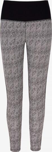 YOGISTAR.COM Yogi-Leggings in grau / schwarz, Produktansicht