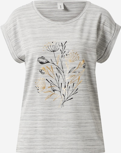 Soyaconcept Shirt 'LUCINA' in grau / graumeliert / mischfarben, Produktansicht