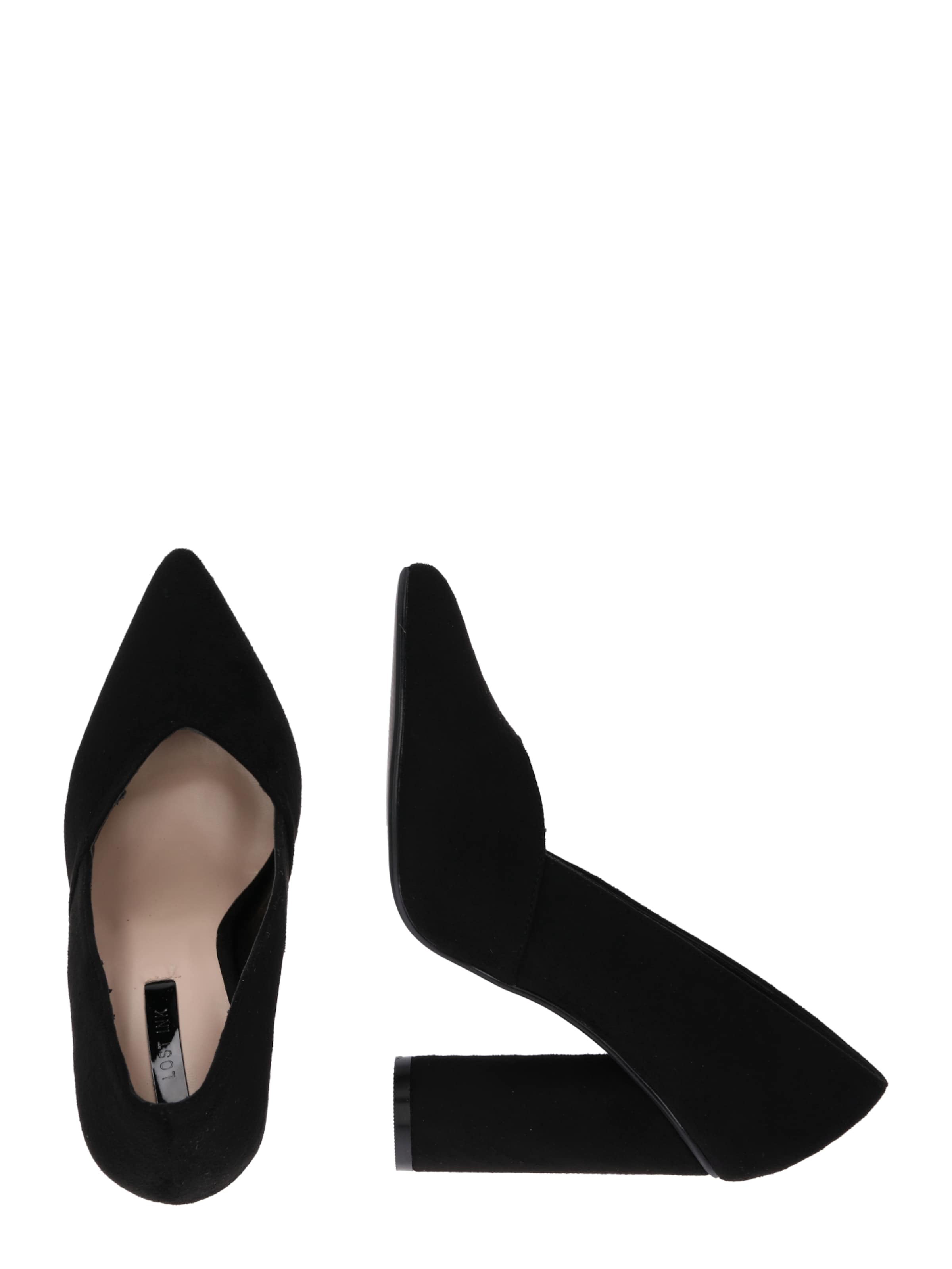 Lost Block Sweetheart Cut En Ink Heel Escarpins 'colette Shoe' Noir kiPXZuTO