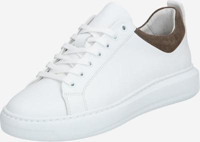 Bianco Chaussure à lacets 'Dava' en gris foncé / blanc, Vue avec produit
