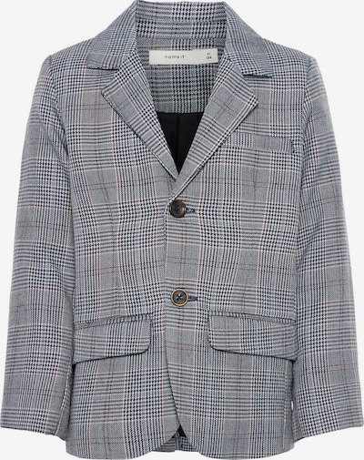 NAME IT Blazer in nachtblau / braun / grau, Produktansicht