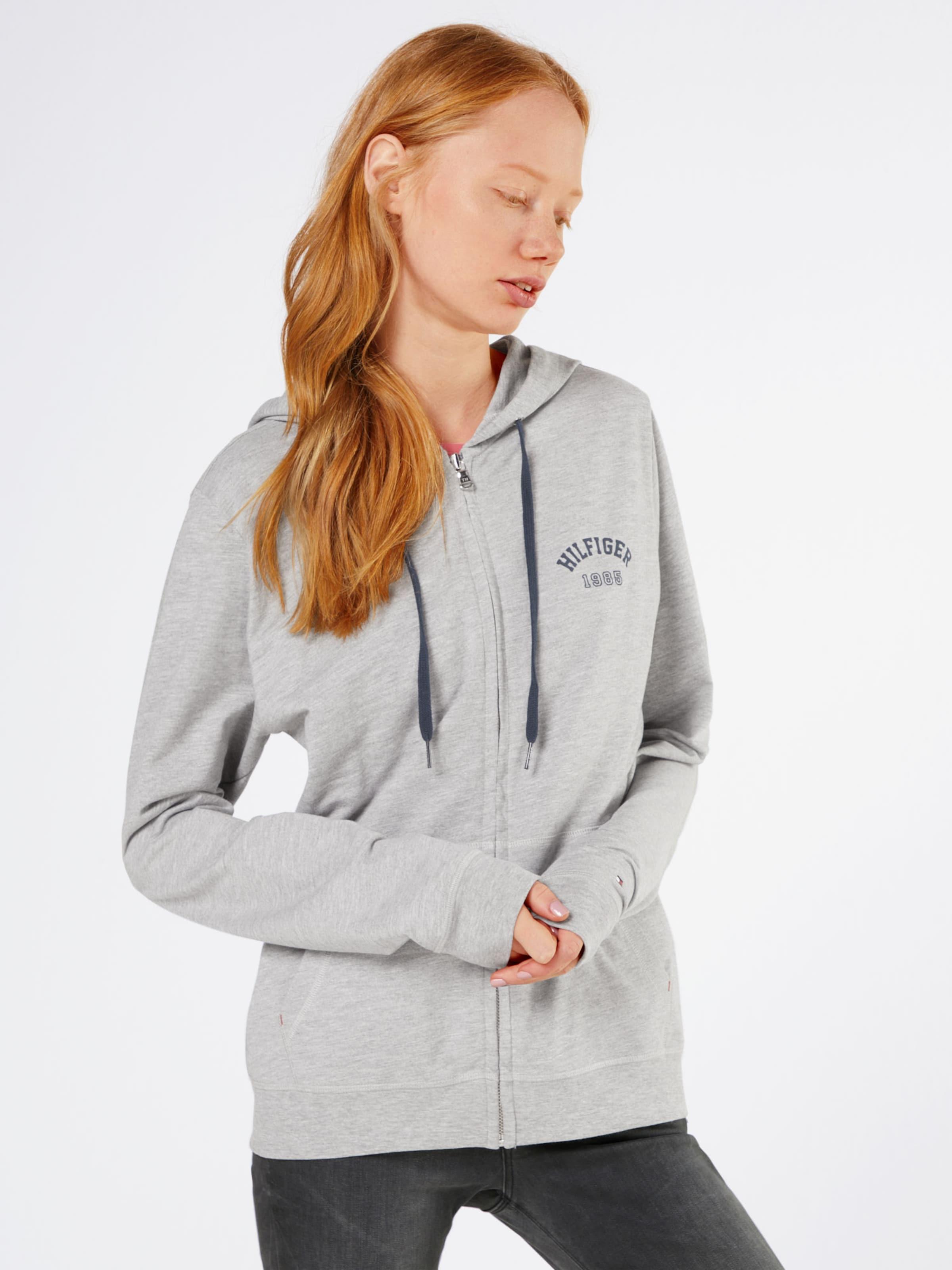 Erstaunlicher Preis Günstiger Preis Einkaufen Tommy Hilfiger Underwear Hoodie 'Iconic Lightweight Knit Zipthru' Insbesondere Rabatt 6t9ma