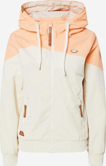 Ragwear Funkcionalna jakna 'NUGGIE' | kremna / pesek / breskev barva, Prikaz izdelka