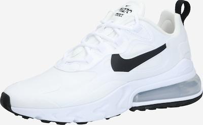 NIKE Športni čevelj 'Nike Air Max 270 React' | črna / srebrna / bela barva, Prikaz izdelka