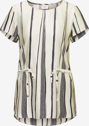Marc O'Polo Pure Blusenshirt in creme / schwarz, Produktansicht